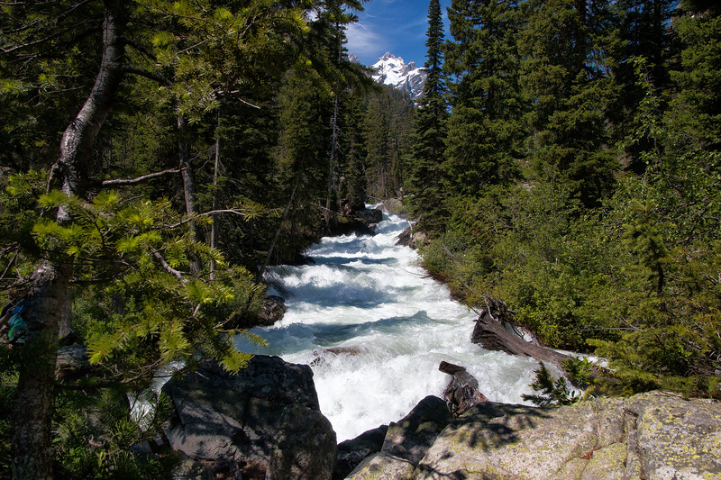 Cascade Creek, Grand Teton National Park, Wyoming