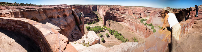 Antelope House Overlook, North Rim, Canyon de Chelly National Monument, Arizona