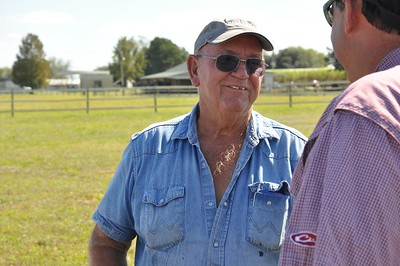 Pictured here is Bernard Laviolette Jr. -- a sugarcane farmer in St. Martin Parish.