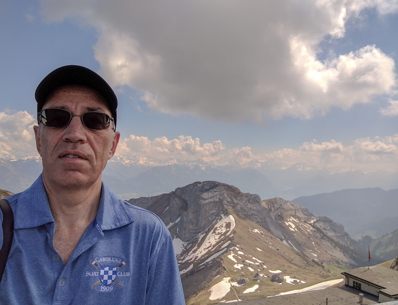 Richard at Mt. Pilatus