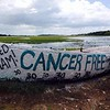 "I am heartbroken to hear that the Folly Boat was taken by Irma.   During my treatment for cancer, I set a goal to paint the Folly Boat once I was declared ""cancer free"". The Folly Boat, and that important milestone, will be a part of me forever. I'm so thankful for the friends that made it happen!!   By Jennifer Jackson"