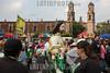 Mexico : Fieles católicos participan en festejos a a San Judas Tadeo en la Ciudad de México, el 28 de octubre de 2017 / Catholic faithful people participate in the festivities of San Judas Tadeo  in Mexico City on October 28th, 2017 - Veneration of Judas Thaddaeus ( San Judas Tadeo ) in Mexico / Mexiko : San - Judas -T adeo - Prozession in Mexiko-Stadt - Indigene Religiosität in Lateinamerika - Fest des Judas Thaddäus © Prometeo Lucero/LATINPHOTO.org