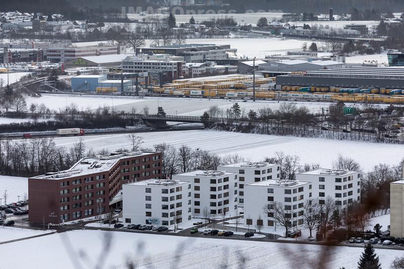 05. 01. 2017 Winter in 4622 Egerkingen © Patrick Lüthy/IMAGOpress.com