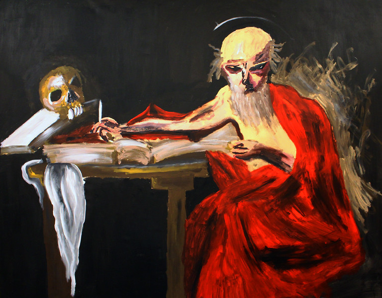 259 - Hieronymus Caravaggio The - 200x160cm