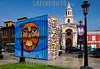 Peru - Lima : Un paseo en el barrio del Callao Monumental , una zona recuperada del degrado y del abandono - zona histórica del Callao - Iglesia - arte / Tour Callao Monumental - urban and contemporary art space in Lima / Peru : Callao Monumental in Lima - Kirche - Kunst - Wandbilder © Marco Simola/LATINPHOTO.org