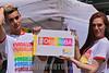 Argentina - Buenos Aires - 18.11.2017 - 26° Marcha del orgullo gay / Argentinien : Teilnehmer an der 26 . Parade der Lesben - und Schwulenbewegung Marcha del Orgullo Gay am 18.11.2017 in Buenos Aires © Walter Marthi/ LATINPHOTO.org