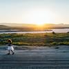 Soda Lake Sunset With Kalina