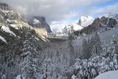 Bill's work trip to Yosemite