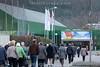 27.03.2017 Stmmberechtigte auf dem Weg zur GV der Raiffeisen Olten in der Stadthalle Olten © Patrick Lüthy/IMAGOpress.com