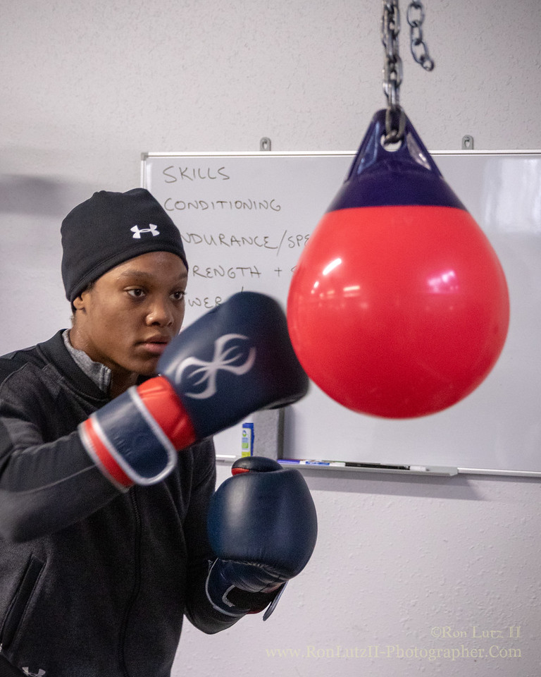 Training for the Wisconsin State Golden Gloves