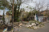 Puerto Rico : San Juan , PR. Fernandez Juncos street in Santurce neighborhood after hurricane Maria hit the island / Hurricane Maria slams Puerto Rico / Puerto Rico : Hurrikan Maria verwüstet Puerto Rico © Rob Zambrano/LATINPHOTO.org