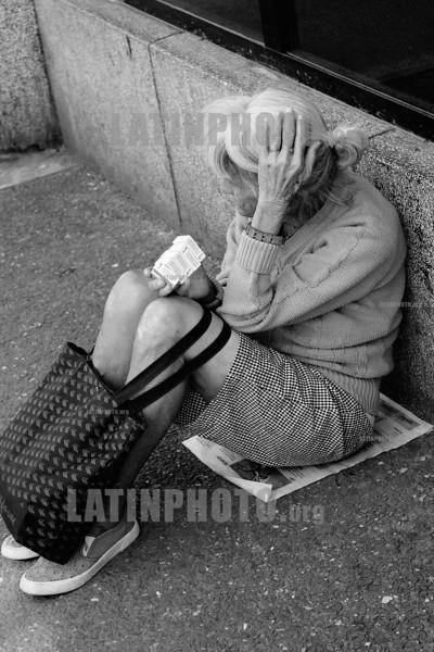 Cuba : Jubilada - Pensionado en La Habana / Havana / Kuba : Alte Frau in Havanna  © Marcia Rios Cabrera/LATINPHOTO.org