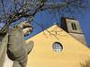 Statue bei der katholische Kirche in 4625 Oberbuchsiten © Patrick Lüthy/IMAGOpress.com