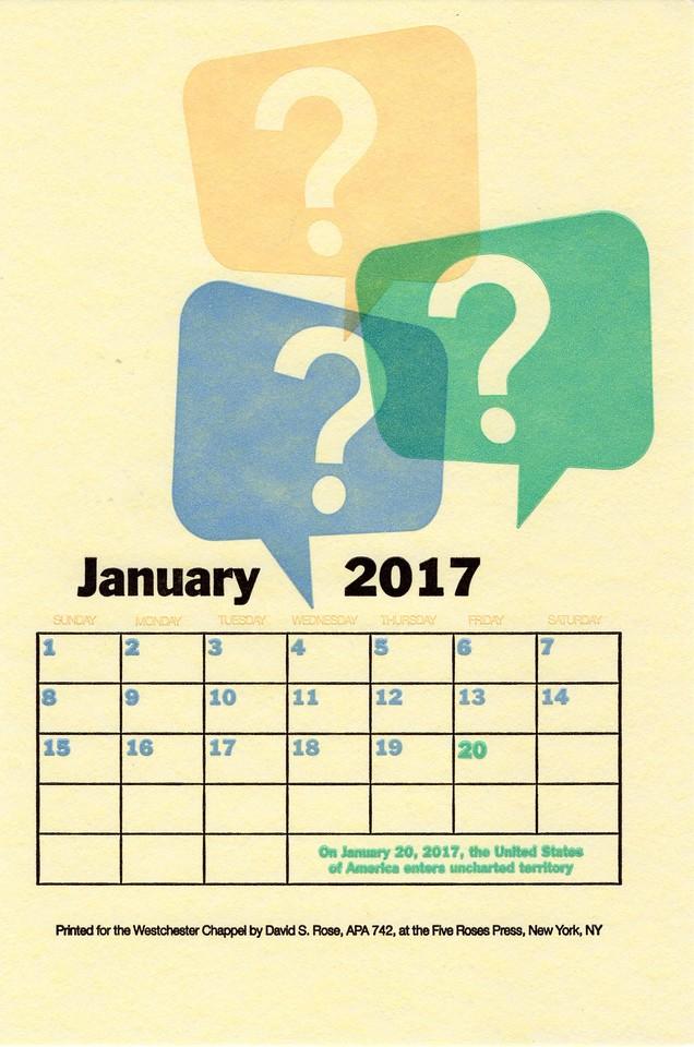 January, 2017, Five Roses Press