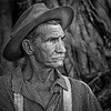 Seminole Reenactment Army Guy