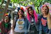 Argentina - Buenos Aires - 18.11.2017 - 26° Grupo de chicas de festejo en la 26° Marcha del orgullo gay / Argentinien : Teilnehmer an der 26 . Parade der Lesben - und Schwulenbewegung Marcha del Orgullo Gay am 18.11.2017 in Buenos Aires © Walter Marthi/ LATINPHOTO.org