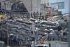 Mexico - Ciudad de México : Terremoto en México / Mexico City earthquake / Mexiko : Rettungsteam am Tag 3 nach dem Erdbeben vom 19.09.2017 in Mexiko - Stadt - Suche nach Personen - Eingestürztes Gebäude © Fernando Camacho/LATINPHOTO.org