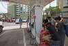 Puerto Rico : San Juan , PR. Locals line up at Ponce de Leon Av to get gas after hurricane Maria hit the island / Hurricane Maria slams Puerto Rico / Puerto Rico : Hurrikan Maria verwüstet Puerto Rico © Rob Zambrano/LATINPHOTO.org