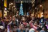 Mexico : En el centro de la Ciudad de México , se realiza una nevada artificial , en la temporada navideña , para la diversión de los miles de personas que acuden / In the center of Mexico City , artificial snow is dropped in the christmas season , for fun of thousands of assistants / Mexiko : Im Zentrum von Mexiko Stadt feiern Bewohner die Eröffnung vom Weihnachtsfest 2017 © Rafael Carlos Gaviria Santos/LATINPHOTO.org