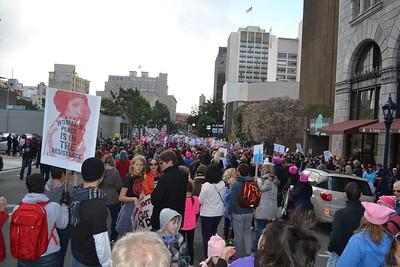 San Diego Women's March 2017