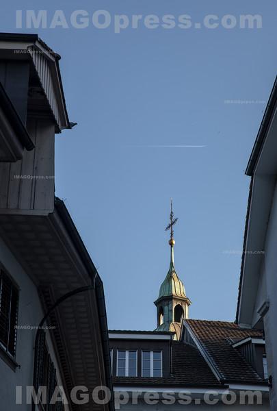 Stadtturm in der Altsatdt von Olten © Patrick Lüthy/IMAGOpress.com