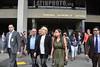 Venezuela : Luisa Marvelia Ortega Díaz (Valle de la Pascua, estado Guárico, Venezuela, 11 de enero de 1958) es una abogada venezolana que funge actualmente como Fiscal General del Ministerio Público de ese país, cargo que ejerce por designación de la Asamblea Nacional, el 13 de diciembre de 2007, por el período entre 2008 y 2014, un lapso de siete años, siendo ratificada por el parlamento por un período igual el 22 de diciembre de 2014 (2014-2021 / Venezuela : Die venezolanische Generalstaatsanwältin Luisa Ortega Díaz © Juan Camacho/LATINPHOTO.org