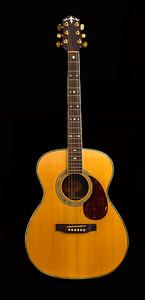 Antique Accoustic Guitar