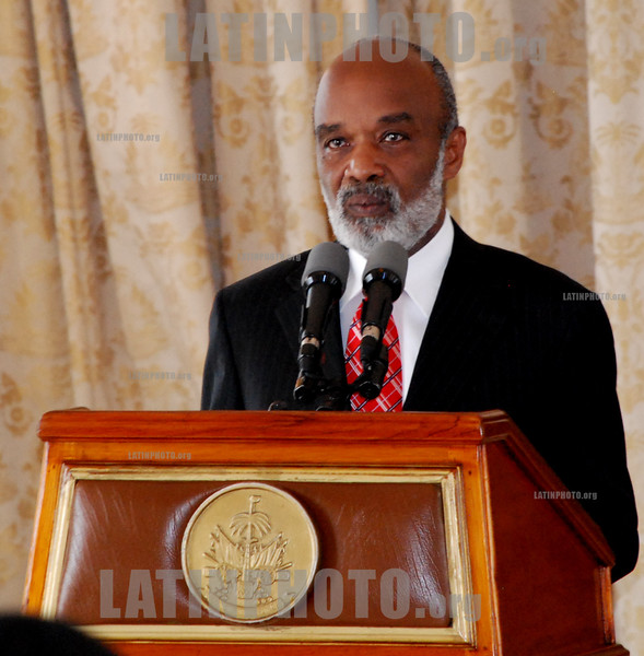 Photo From the Archive : Muere el expresidente de Haití René Préval a los 74 años / Former Haiti President Rene Preval dies aged 74 / Ex-Präsident René Préval gestorben © Jean Jacques Augustin/LATINPHOTO.org