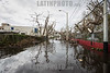 Puerto Rico : San Juan , PR. Floaded street in Santurce neighborhood shows the destruction of hurricane Maria on the island / Hurricane Maria slams Puerto Rico / Puerto Rico : Hurrikan Maria verwüstet Puerto Rico © Rob Zambrano/LATINPHOTO.org