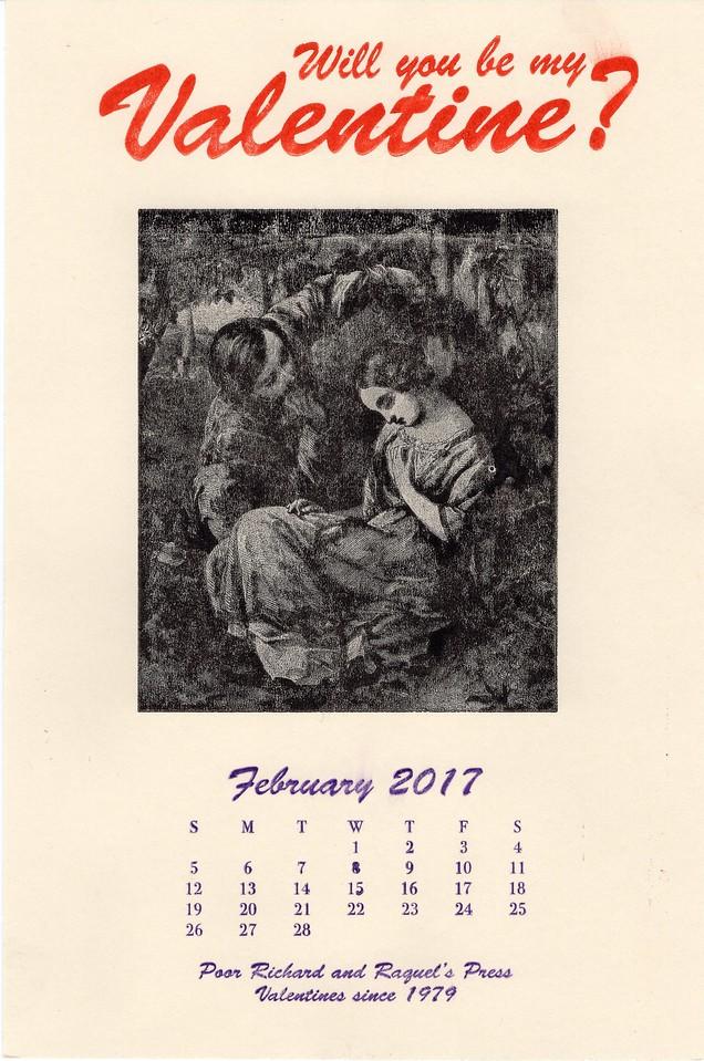 February, 2017, Poor Richard's Press
