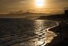 Spanien : Sonnenuntergang ian der Küste in Torrox - Provinz Málaga - Andalusien © Patrick Lüthy/IMAGOpress.com