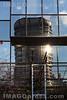 06. 01. 2017 BIZ - Turm spiegelt sich auf einer Glasfassade in Basel © Patrick Lüthy/IMAGOpress.com