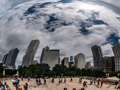 View from the Bean