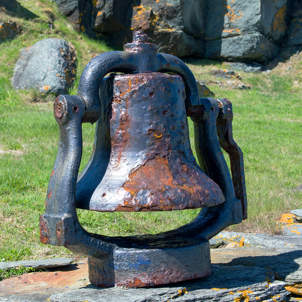 Old Bell at the Cape Forchu lighthouse