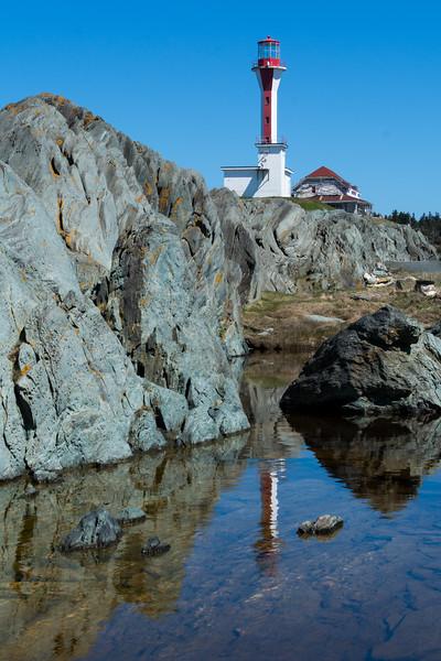 Cape Forchu lighthouse, Yarmouth, NS.