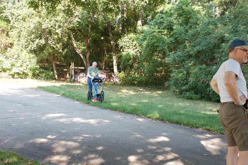 Montclair Cemetery Survey, Aug 16, 2012.