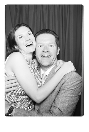Photo prints from Kate & Patrick's wedding day photo booth.