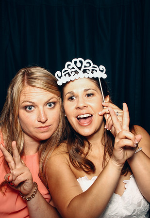 Full frames from Amy and Brandon's wedding day photo booth.