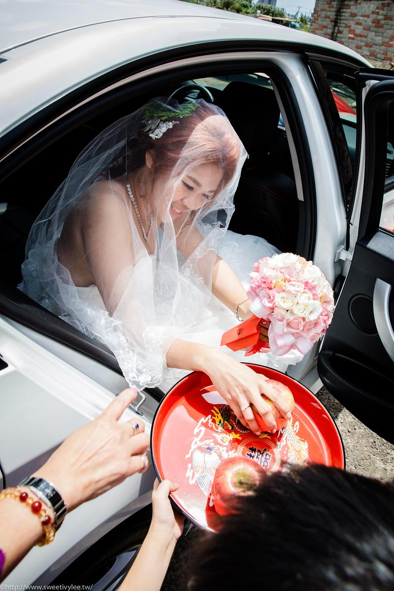 婚攝Ivy,女攝影師,婚攝 ,婚禮紀錄,歐遊國際連鎖精品旅館,迎娶,結婚,中壢綠光花園婚宴會館,華麗聽