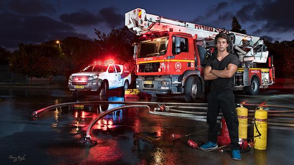 201707 Natanya Fire Department