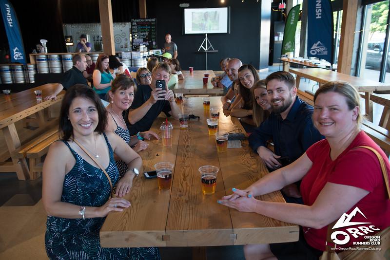 2017 07 15 - ORRC Tuesday Night Training Group Celebration Night