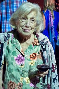 Pearl Clarke at son Freddy Clarke birthday party