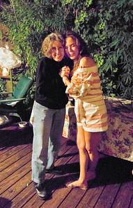 Eva Strauss-Rosen, left; Margaret Mitchell, right - Freddy Clarke birthday party