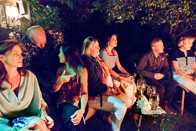 Hap Wotila, 2nd on left; Freddy Clarke birthday party