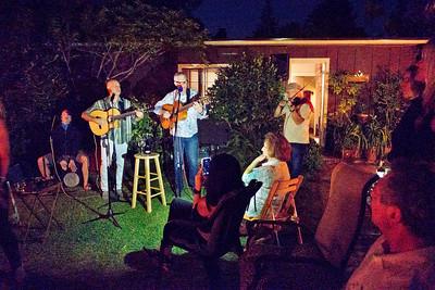 Freddy Clarke, on guitar, left; Ray McNaughton. on guitar -  Freddy Clarke birthday party