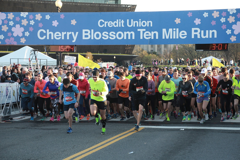2017 Credit Union Cherry Blossom 10 Mile Course - Bob Burgess