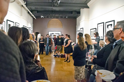 San Francisco Art Exchange - party of Traci M. Hiden law firm, celebrating purchase of Dr. King print