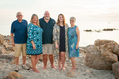 Family Portraits at Casperson Beach, Venice, FL