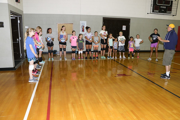 WNCC and YMCA Vball Camp