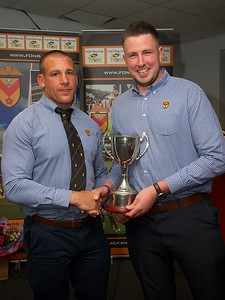 Players Award - Joe Bartlett (presented by Rhys Jenkins)